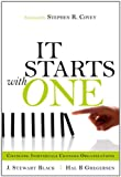 img - for It Starts with One: Changing Individuals Changes Organizations book / textbook / text book