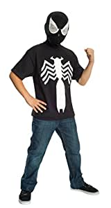 Rubies Ultimate Black Spiderman/Venom T-Shirt and Mask