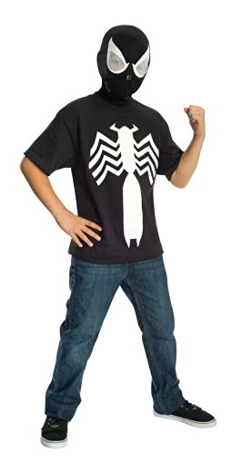 Rubie's Ultimate Black Spider-man / Venom T-shirt and Mask, Child Medium - Child Medium One Color