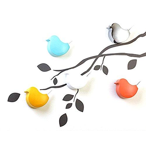 Uphome creative cuckoo bird door chime kids toy room for Kids room doorbell
