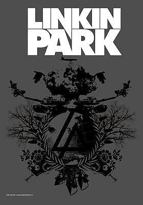 Linkin Park poster Bandiera-Bandiera piano B