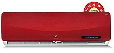 Videocon VSN35.RV1 -MDA Split AC (1 Ton, 5 Star Rating, Red)