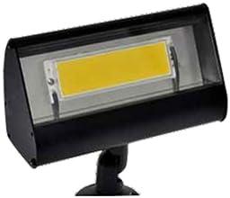 Focus LFL-01-LEDP812VBLT Outdoor Led Flood Light with No Shades Black