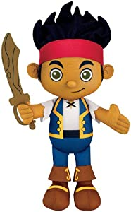 Fisher-Price Disney's Jake and The Never Land Pirates Jake Talking Plush by Fisher-Price