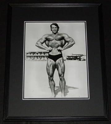 Arnold Schwarzenegger Bodybuilding Framed 11x14 Photo Poster