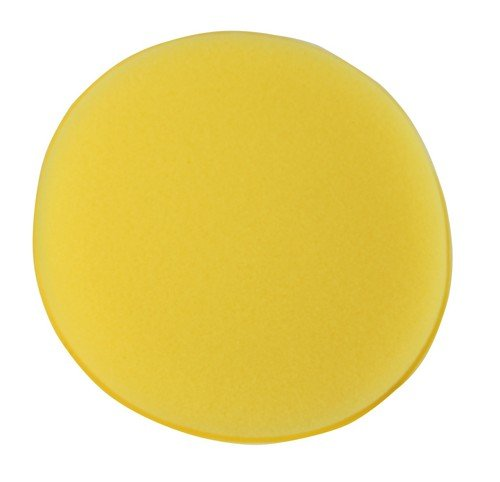 Kent Car Care Sponge Polish Applicator Pad 5-inch - Yellow