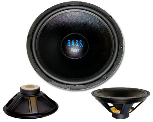 "Acoustic Audio Bass18 1000 Watt 18"" Sub High Performance Car Subwoofer"