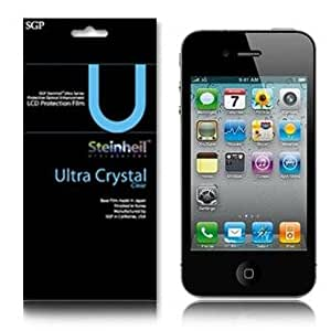SGP STEINHEIL iPhone 4 Screen Protector ULTRA CRYSTAL