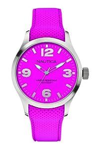 Nautica Unisex-Armbanduhr Analog Quarz Silikon A11586G