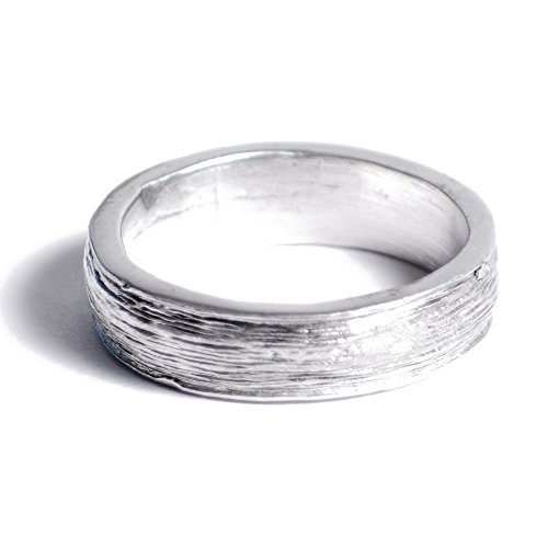 10th Anniversary Gift Idea Tin Ring for Him - Inscribed with Ten Years, Free Reszie (12)