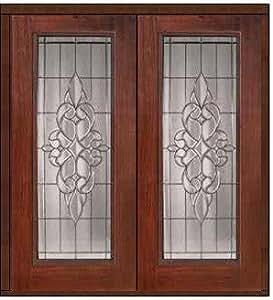 Prehung Exterior Double Door 80 Fiberglass Courtlandt Full