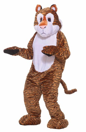 Forum Novelties Inc - Tiger Deluxe Mascot Adult Costume
