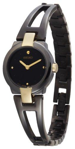 Seiko Women's SUJA80 Dress Black Ion Watch
