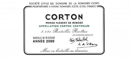 2009 Domaine De La Romanee Conti Corton Grand Cru