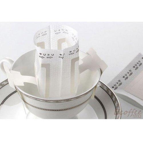 White Hanging Coffee Filter Bags 50Pcs Per Bag