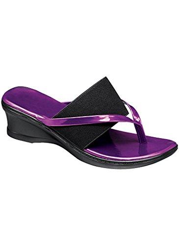 Amerimark Women'S Adult Miami Synthetic 11 Medium Us Women / Purple front-221327