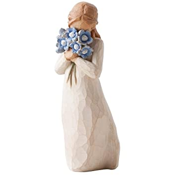 #!Cheap Willow Tree Forget-Me-Not Figurine #26454 by Susan Lordi
