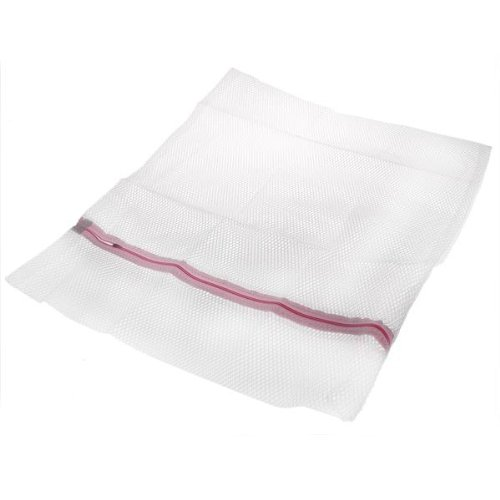 2 Pieces Zipped Nylon Laundry Washing Bags Net Socks Underwear Wash Mesh