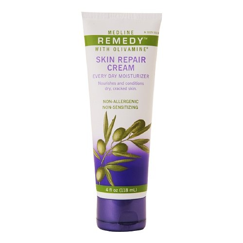 Medline Remedy Skin Repair Cream Every Day Moisturizer 4 fl oz (118 ml)
