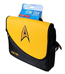 ORB Star Trek Messenger Bag for Upto 10 inch Tablet - Command Yellow