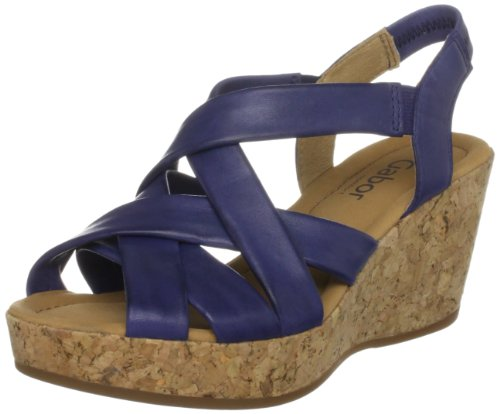 Gabor Women's Mary Atlantik Wedges 42.841.66 5 UK