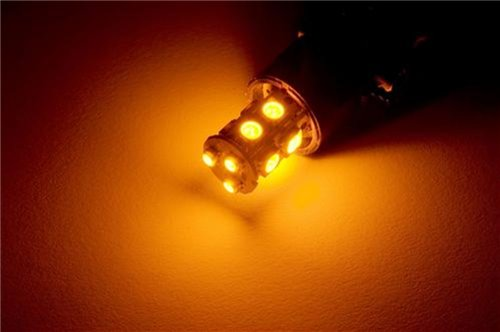 Putco 232157A Premium Automotive Lighting Nova Amber Led Bulb