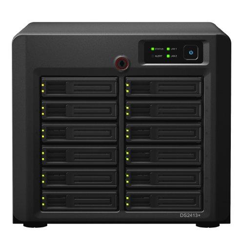 Synology DS2413+ DiskStation 12 Bay Desktop NAS Black Friday & Cyber Monday 2014
