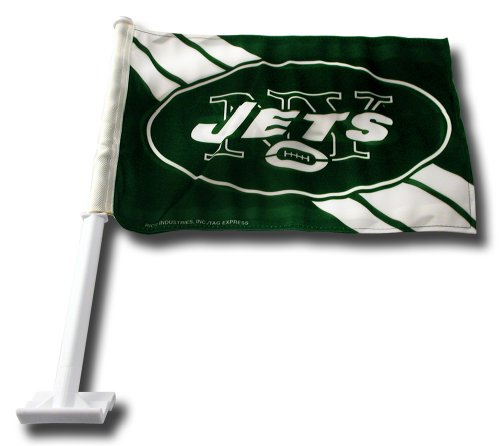 NFL New York Jets Car Flag at Amazon.com