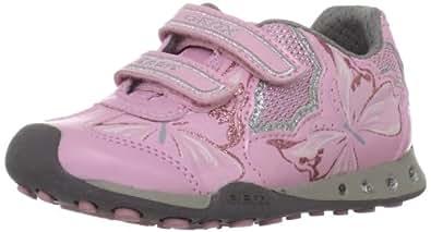 GEOX J NEW COCKER N J34G2N-00211/C8208 enfant (garçon ou fille) Chaussures à lacets, rouge 38 EU