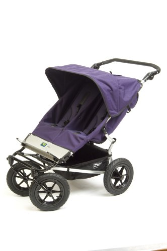Mountain Buggy Urban Double Stroller - Plum
