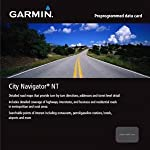 Garmin City Navigator Nordics for Detailed Maps of Denmark, Finland, Norway, and Sweden (microSD/SD Card)