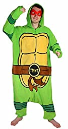 Teenage Mutant Ninja Turtle Hooded Kigurumi (One Size)