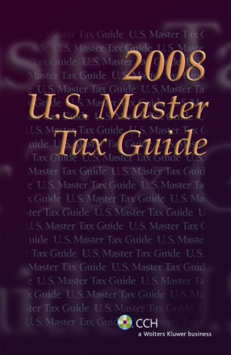 U.S. Master Tax Guide--Special Trc Edition (2008) front-23721