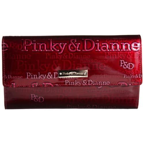 [ピンキーアンドダイアン] Pinky&Dianne アクアリオII 長財布 PDLW3RT1 55 (ボルドー)