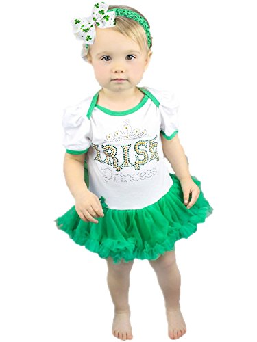 a0666c04 Darling Irish Princess Baby Tutu Dress. This is a totally cute St. Patrick's  ...