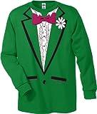 St. Patrick's Day Long Sleeve Tuxedo T-Shirt #1