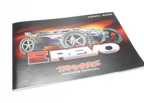 Traxxas 5699 Owners Manual E-Revo