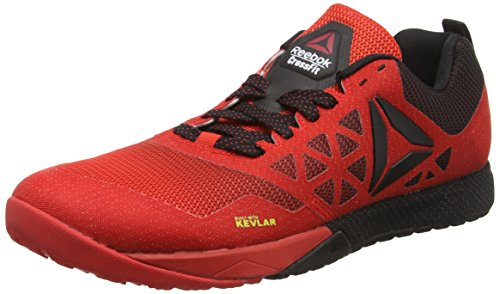 Reebok R Crossfit Nano 6.0, Scarpe da Fitness Uomo, Multicolore (Red/Black), 43 EU