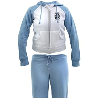 Artsmith, Inc. Ladies Tracksuit Proud Air Force Wife Jets by Artsmith Inc