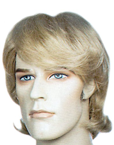 Kristoff Bjorgman Deluxe Frozen Inspired Blond Men's and Boy's Costume Wig