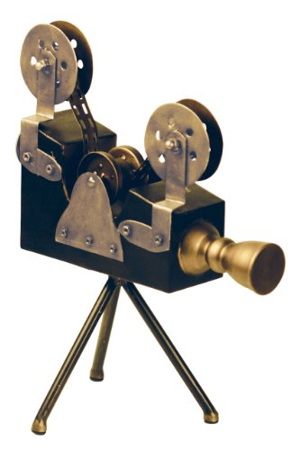 Sterling Home 51-8212 Decorative Accessories Olivier Camera, 15-1/2-Inch Tall by 11-3/4-Inch Long