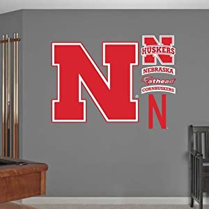 NCAA Nebraska Cornhuskers Logo Wall Graphic by Fathead