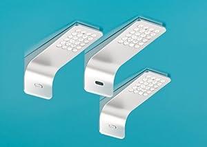 Ledray 1 LED Set3 mit LED Touch Sch. u. Di., edelstahlfb.  BaumarktKritiken und weitere Infos