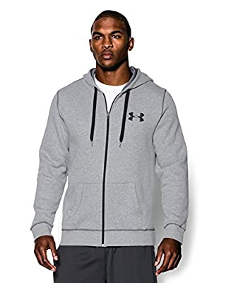 Under Armour Men's Rival Cotton Full Zip Hoodie