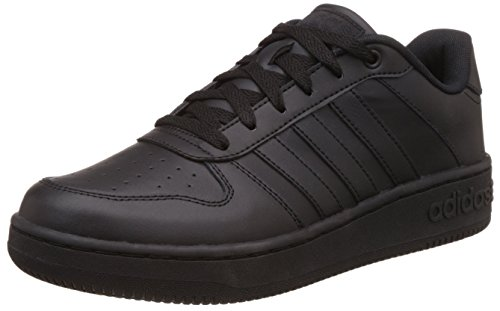 adidas NEO Team Court, Scarpe da Ginnastica Basse Uomo, Negro (Negbas / Negbas / Negbas), 42 EU