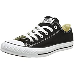 Converse Chuck Taylor All Star Core Ox, Sneaker Unisex, Nero, Taglia 39