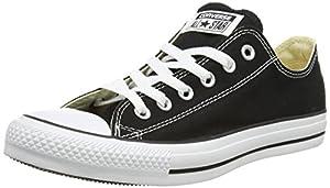 Converse Chuck Taylor All Star OX, Unisex-Erwachsene Sneakers, Schwarz (Black), 41.5 EU (8 Erwachsene UK)