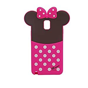 Disney Minnie Mouse Soft Silicone Back Case Cover For Samsung Galaxy Note 3 N9000
