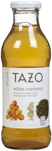 Tazo White Cranberry Iced Tea, 13.8 Oz, 12Ct