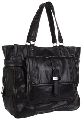 (3折)橘姿手提包Juicy Couture Blue Print Tote黑色$131.84